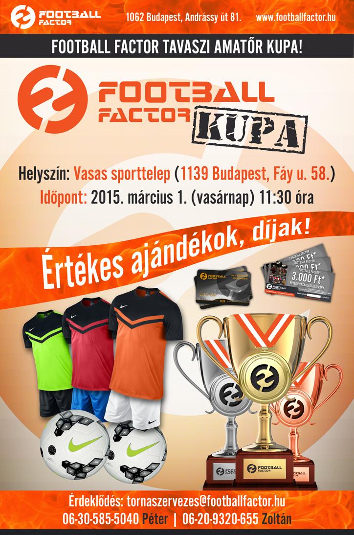 Tavaszi Football Factor Kupa - Bajnokságok.hu ce6d556dfc
